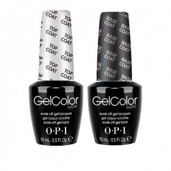 OPI GEL Nail Polish Lacquer TOP COAT and BASE COAT 2x15ml