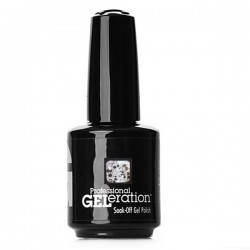 Jessica Geleration UV/LED Nail Gel Polish - Silver Sparkler 15ml