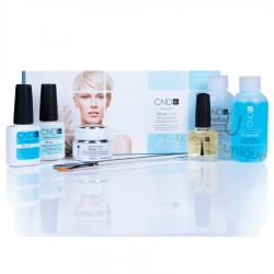 CND Brisa Lite Removable Gel Nail Smoothing Pack Shellac Starter Kit