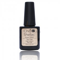 CND Shellac Top Coat LARGE - 15ml