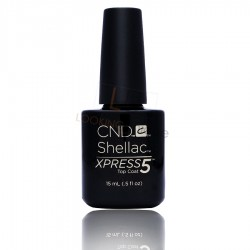 CND Shellac XPRESS5 - Top Coat LARGE- 15ml
