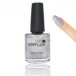 CND Vinylux - Silver Chrome Nail Lacquer 15ml