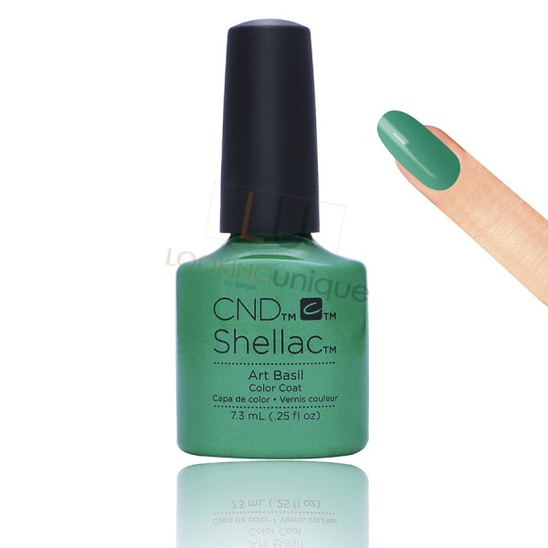 CND Shellac - Art Basil - Gel Nail polish 7.3ml