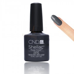 CND Shellac - Asphalt - Gel Nail polish 7.3ml