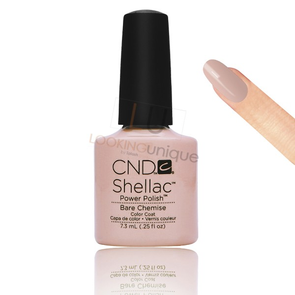 CND Shellac - Bare Chemise - Gel Nail polish 7.3ml