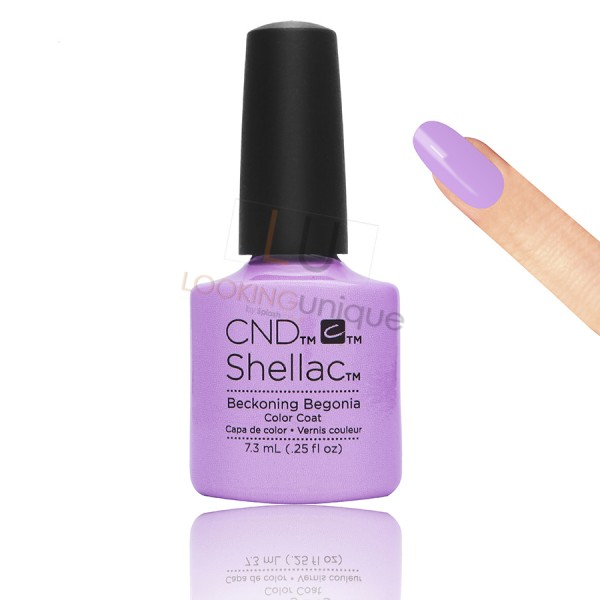 CND Shellac - Beckoning Begonia - Gel Nail polish 7.3ml