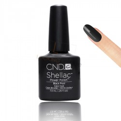 CND Shellac - Black Pool - Gel Nail polish 7.3ml
