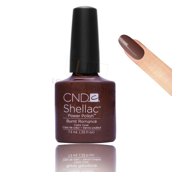 CND Shellac - Burnt Romance - Gel Nail polish 7.3ml