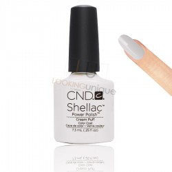 CND Shellac - Cream Puff - Gel Nail polish 7.3ml