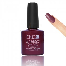 CND Shellac - Crimson Sash - Gel Nail polish 7.3ml