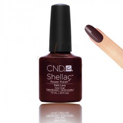 CND Shellac - Dark Lava - Gel Nail polish 7.3ml