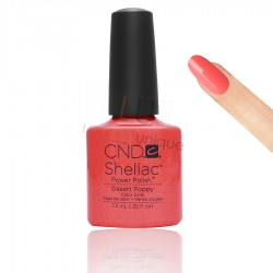 CND Shellac - Desert Poppy - Gel Nail polish 7.3ml