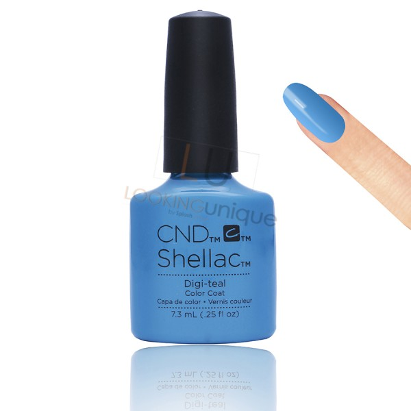 CND Shellac - Digi-teal - Gel Nail polish 7.3ml
