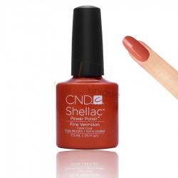 CND Shellac - Fine Vermilion - Gel Nail polish 7.3ml