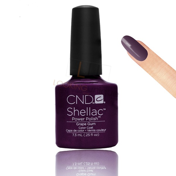 CND Shellac - Grape Gum - Gel Nail polish 7.3ml