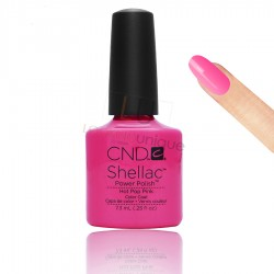 CND Shellac - Hot Pop Pink - Gel Nail polish 7.3ml