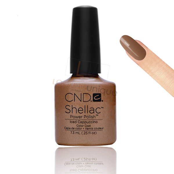 CND Shellac - Iced Cappuccino - Gel Nail polish 7.3ml