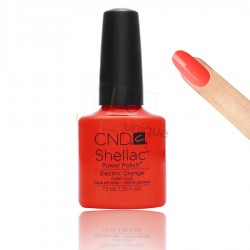 CND Shellac - Electric Orange - Gel Nail polish 7.3ml