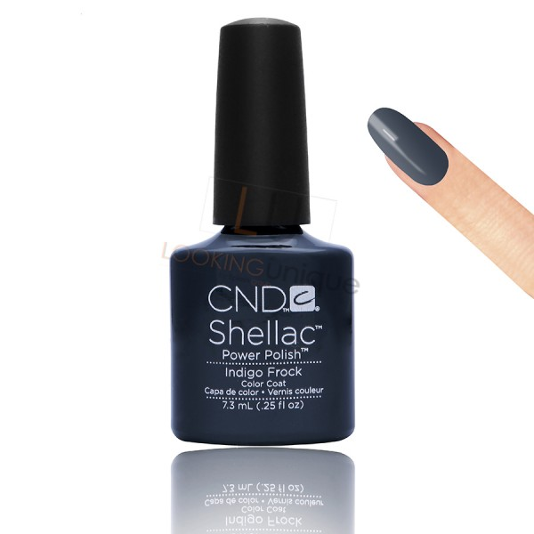 CND Shellac - Indigo Frock - Gel Nail polish 7.3ml