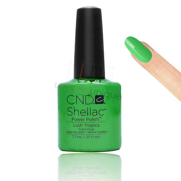 CND Shellac - Lush Tropics - Gel Nail polish 7.3ml