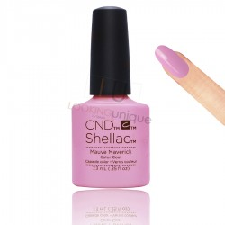 CND Shellac - Mauve Maverick - Gel Nail polish 7.3ml