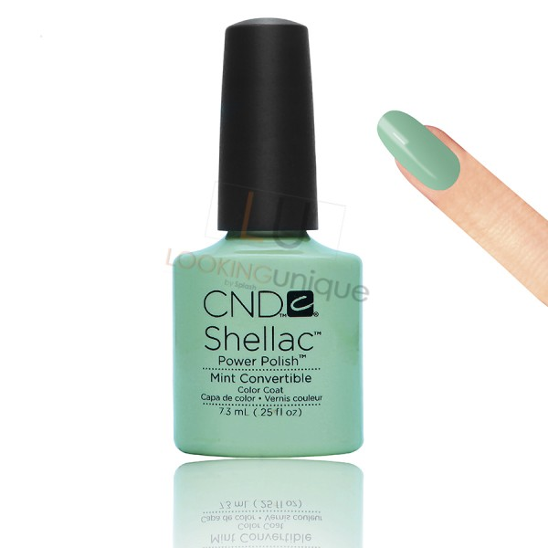 CND Shellac - Mint Convertible - Gel Nail polish 7.3ml