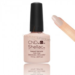 CND Shellac - Naked Naivete - Gel Nail polish 7.3ml