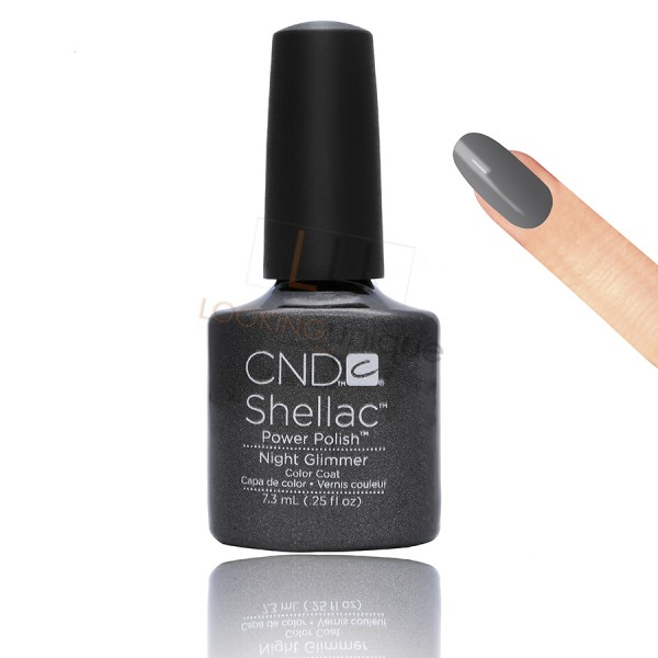 CND Shellac - Night Glimmer - Gel Nail polish 7.3ml