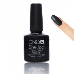CND Shellac - Overtly Onyx - Gel Nail polish 7.3ml