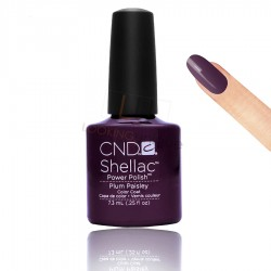 CND Shellac - Plum Paisley - Gel Nail polish 7.3ml