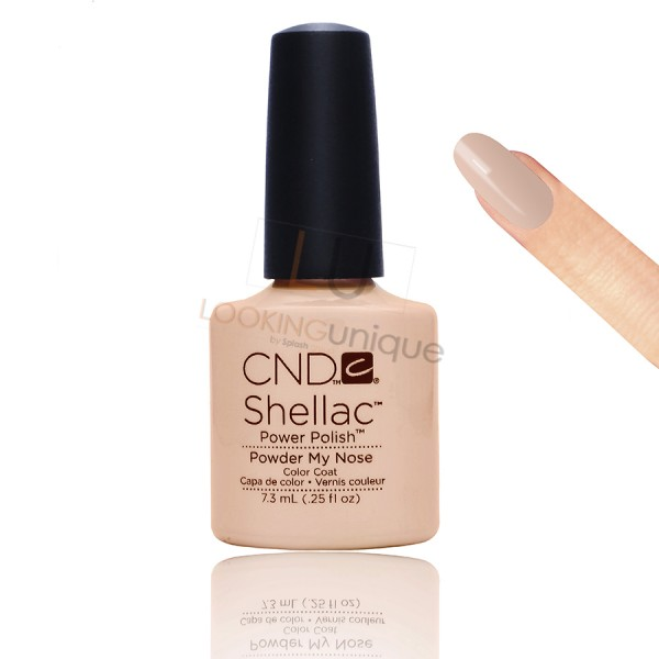 CND Shellac - Powder My Nose - Gel Nail polish 7.3ml