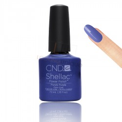 CND Shellac - Purple Purple - Gel Nail polish 7.3ml