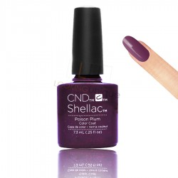 CND Shellac - Poison Plum - Gel Nail polish 7.3ml
