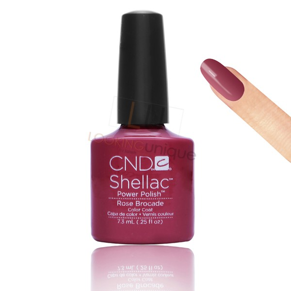 CND Shellac - Rose Brocade - Gel Nail polish 7.3ml