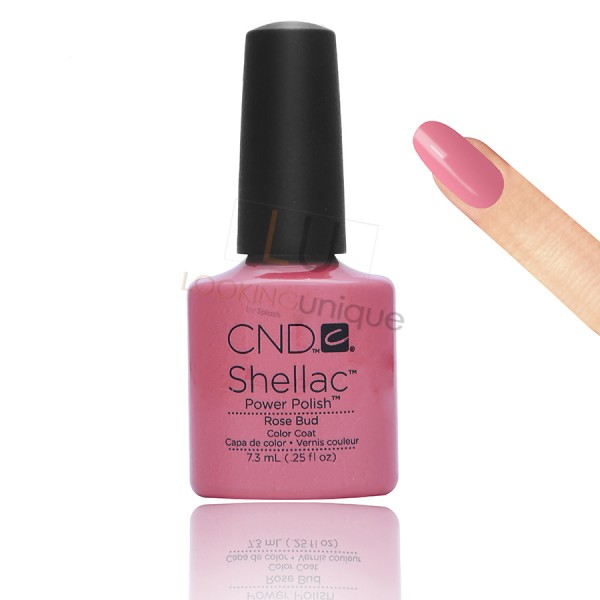 CND Shellac - Rose Bud - Gel Nail polish 7.3ml