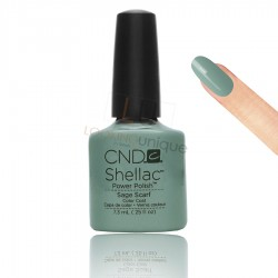 CND Shellac - Sage Scarf - Gel Nail polish 7.3ml
