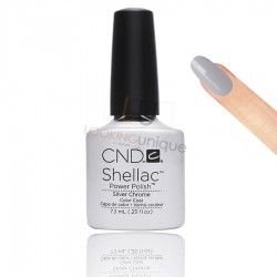 CND Shellac - Silver Chrome - Gel Nail polish 7.3ml