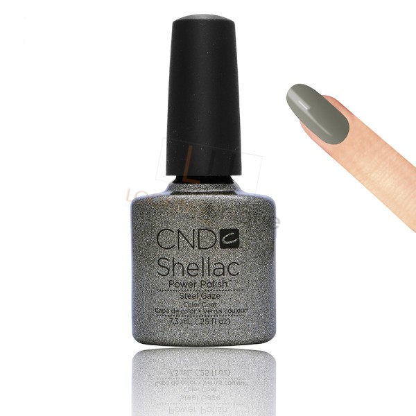 CND Shellac - Steel Gaze - Gel Nail polish 7.3ml