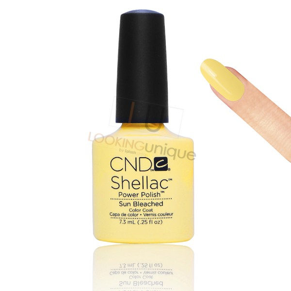 CND Shellac - Sun Bleached - Gel Nail polish 7.3ml
