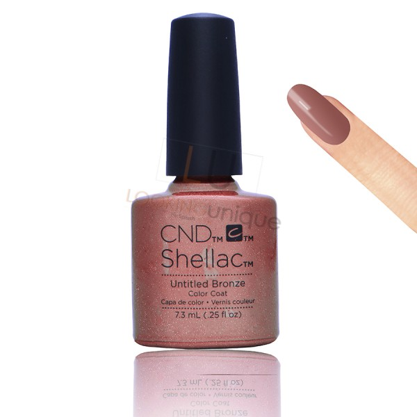 CND Shellac - Untitled Bronze - Gel Nail polish 7.3ml
