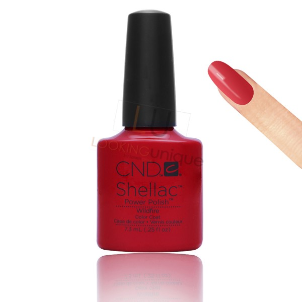 CND Shellac - Wildfire - Gel Nail polish 7.3ml