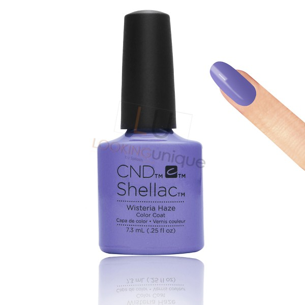 CND Shellac - Wisteria Haze - Gel Nail polish 7.3ml