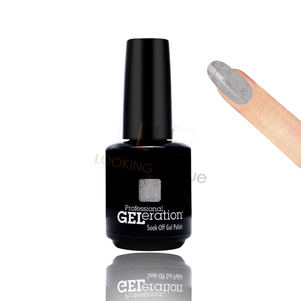 Jessica Geleration UV/LED Nail Gel Polish - Palladium 15ml