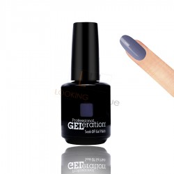 Jessica Geleration UV/LED Nail Gel Polish - Pretty In Purple 15ml