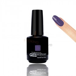 Jessica Geleration UV/LED Nail Gel Polish - Purple Heart 15ml