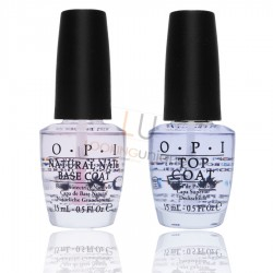 Opi Natural Nail Base and Top Coat 2x15ml