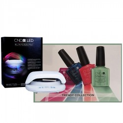 CND Shellac Trendy Collection Starter Pack + CND LED Lamp