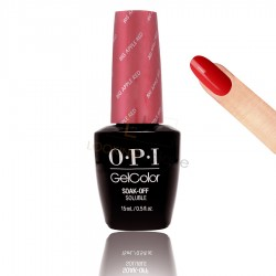 OPI GEL COLOR - Big Apple Red (Sirens collection) 15ml