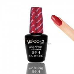 OPI GEL COLOR - Coca-Cola Red 15ml