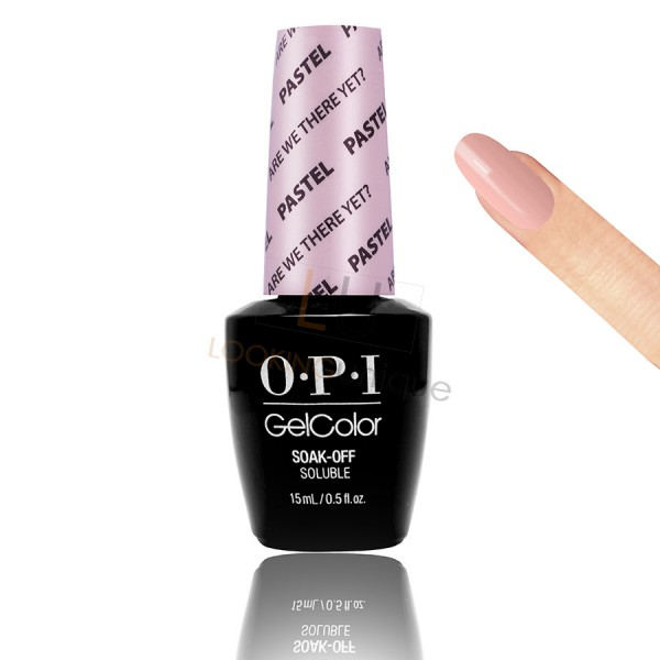 OPI GEL - Are We There Yet? (The Pastel)